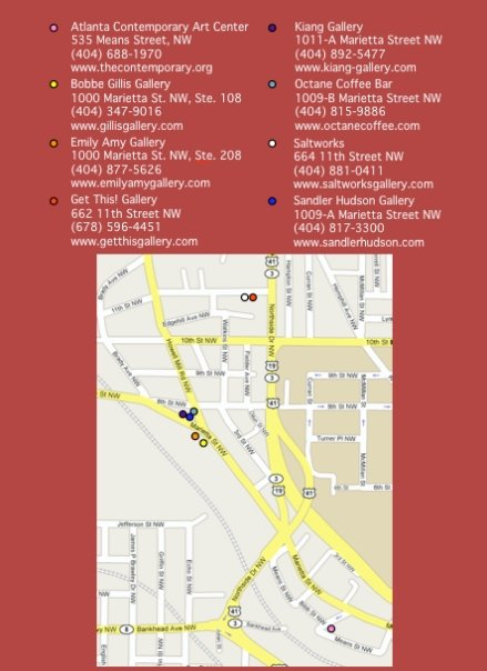 WAD Area Map & Gallery Info